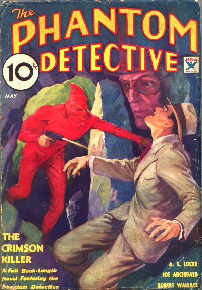 Phantom Detective, May 1934