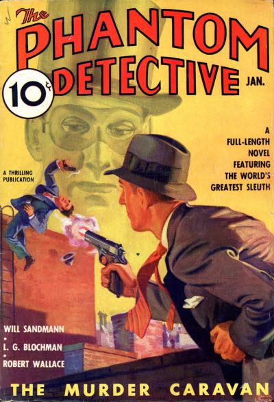 Phantom Detective, January 1937