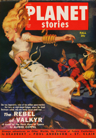 Planet Stories, Fall 1950