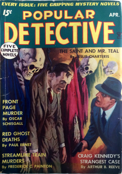 Doctor Death #2 March 1935