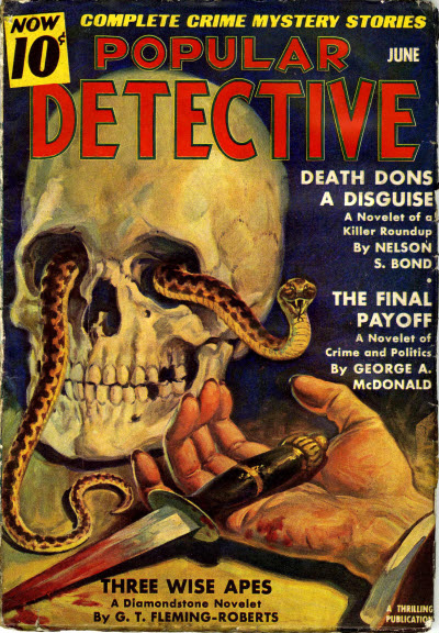 Popular Detective, June 1939