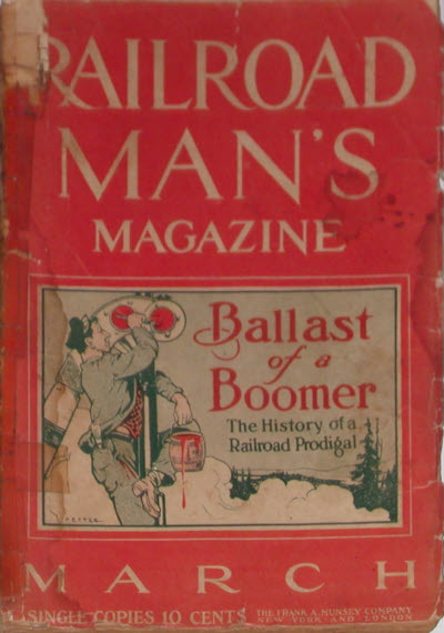 Railroad Man's Magazine, March 1912
