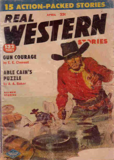 Real Western Stories, April 1956