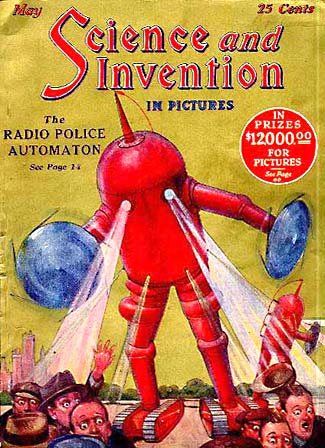 publication science and invention may 1924