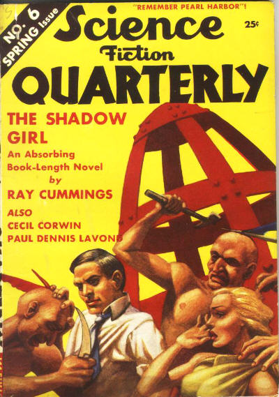 Science Fiction Quarterly, Spring 1942
