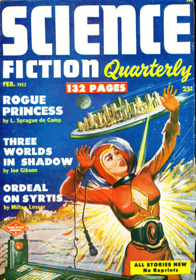 Science Fiction Quarterly, February 1952
