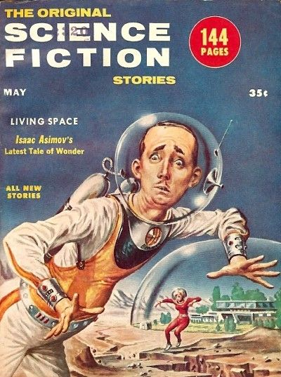 The Original Science Fiction Stories, May 1956
