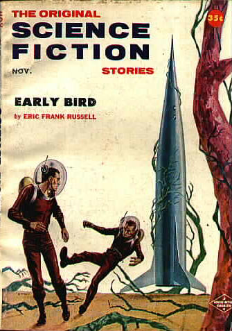 Science Fiction Stories, November 1957