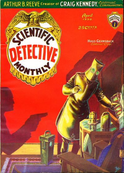Scientific Detective Monthly, April 1930