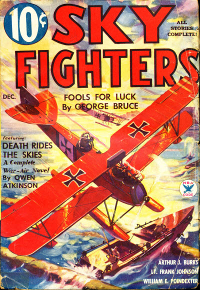 Sky Fighters, December 1934