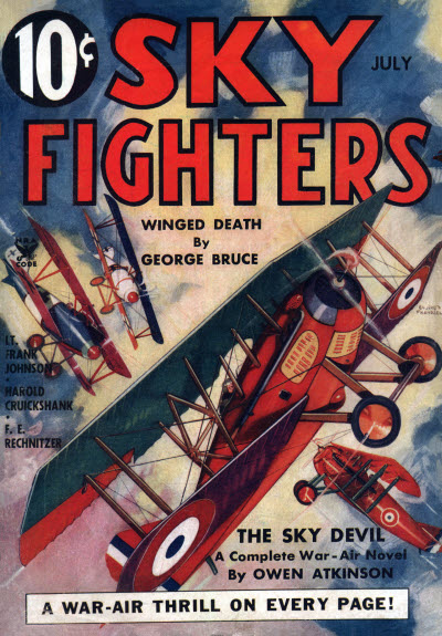 Sky Fighters, July 1935