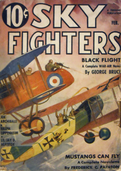 Sky Fighters, February 1936