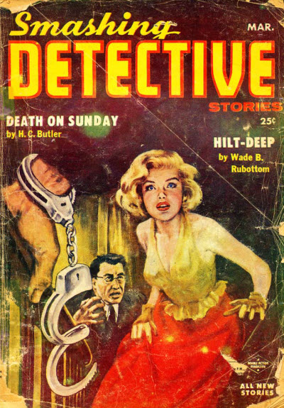 Smashing Detective Stories, March 1956