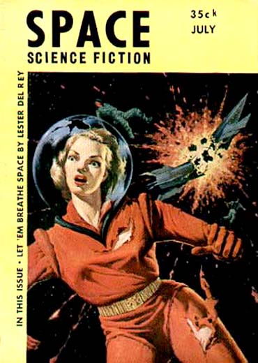 Space Science Fiction, July 1953