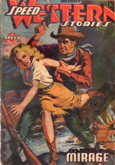 Speed Western Stories, December 1943
