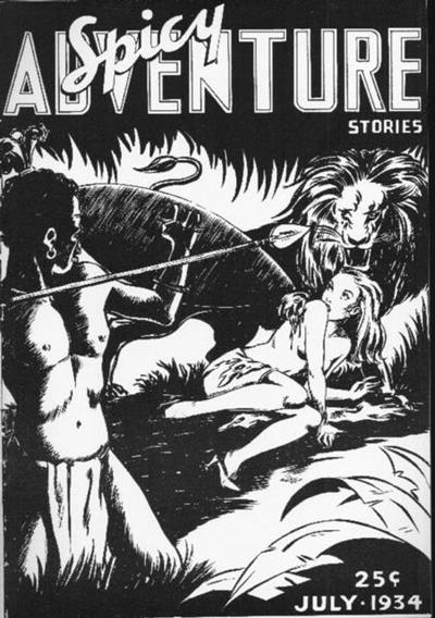 Spicy Adventure Stories, July 1943