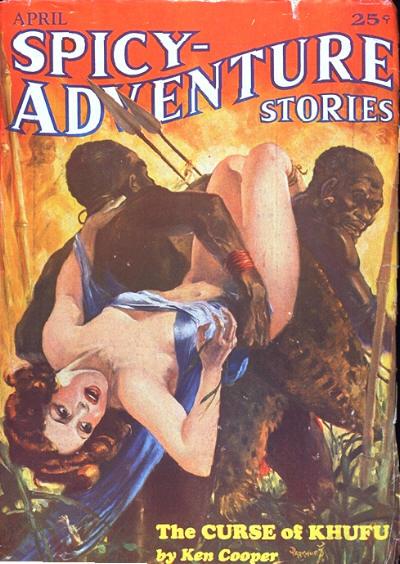 Spicy Adventures, April 1935