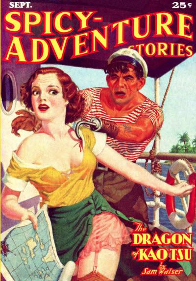 Spicy Adventure Stories, September 1936