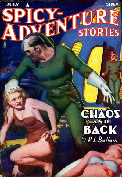 Spicy Adventure Stories, July 1941