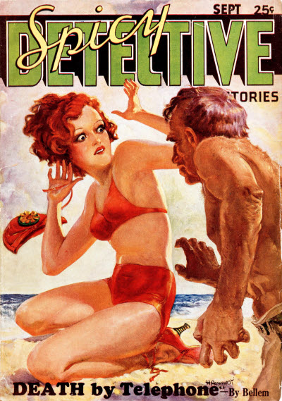 Spicy Detective Stories, September 1934