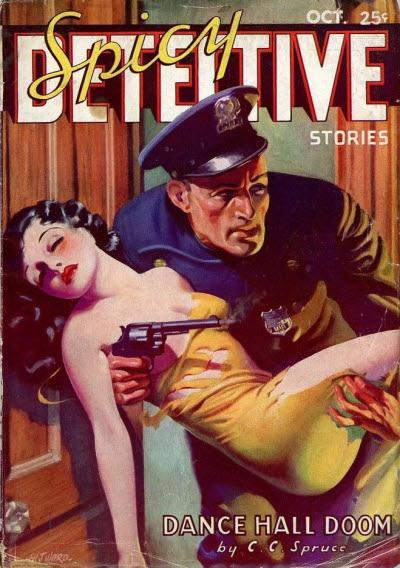 Spicy Detective Stories, October 1935