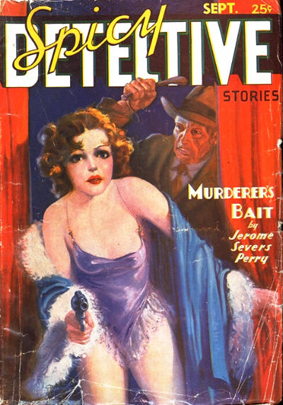 Spicy Detective Stories, September 1936