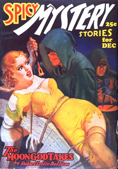 Spicy Mystery Stories, December 1936