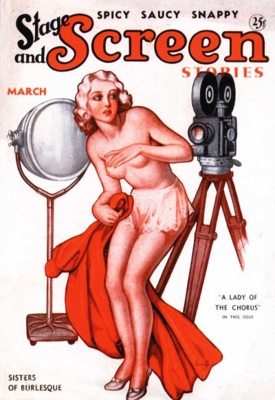 Stage & Screen Stories, March 1936