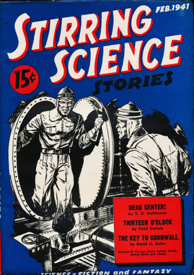 Stirring Science Stories, February 1941