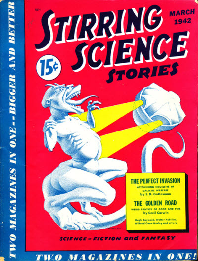 Stirring Science Stories, March 1942