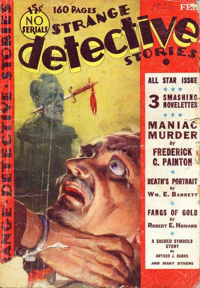 Strange Detective Stories, January 1934