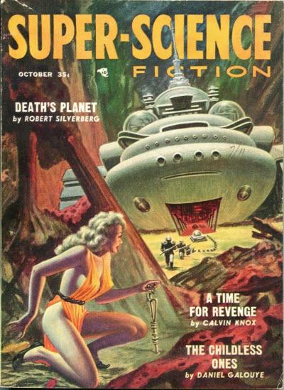 Super Science Fiction, October 1957