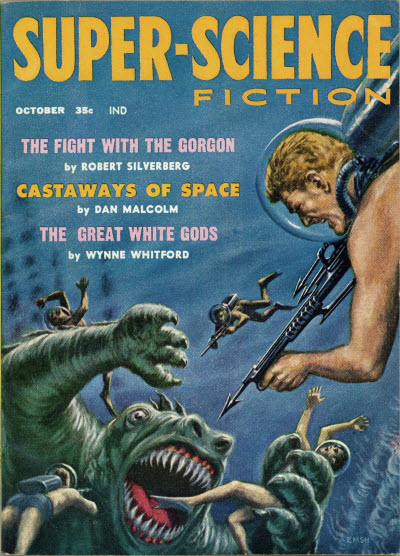 Super-Science Fiction, October 1958