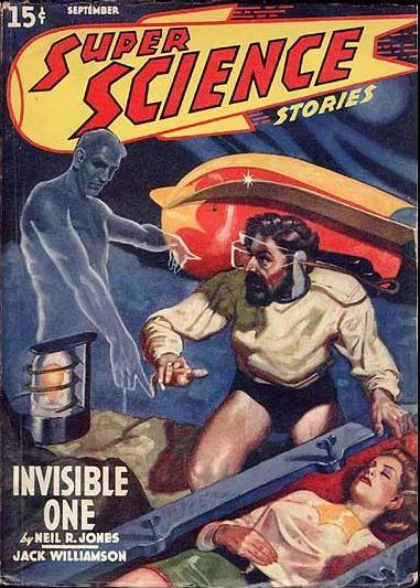 Cover art of super science