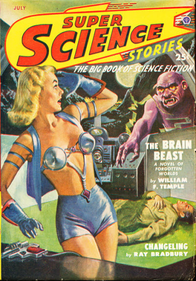Super Science Stories, July 1949