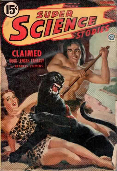 Super Science Stories, October 1944