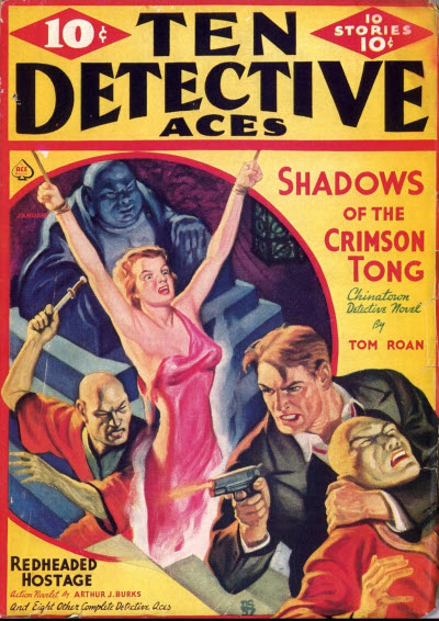 Ten Detective Aces, January 1938