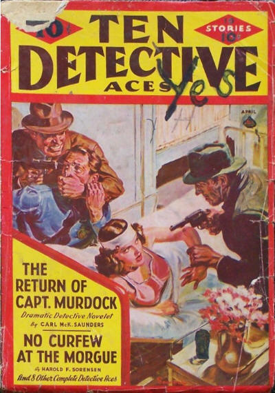 Ten Detective Aces, April 1940