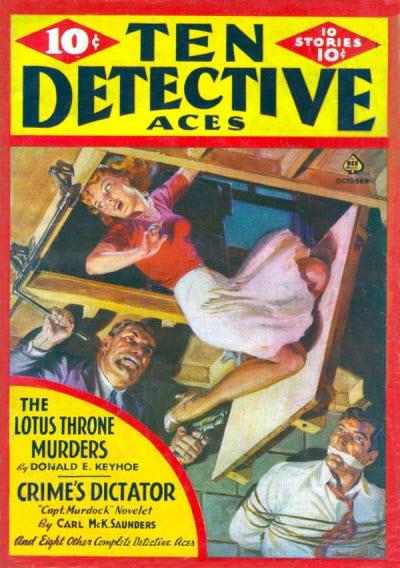 Ten Detective Aces, October 1940