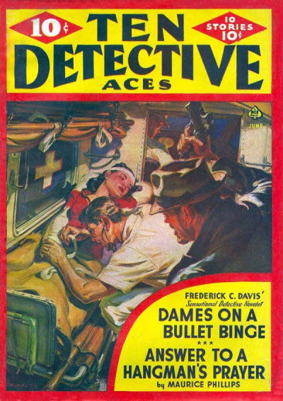 Ten Detective Aces, June 1941