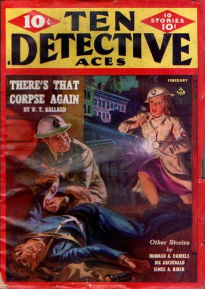 Ten Detective Aces, February 1943