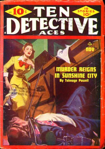 Ten Detective Aces, November 1944