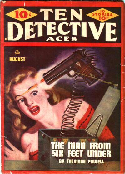 Ten Detective Aces, August 1946