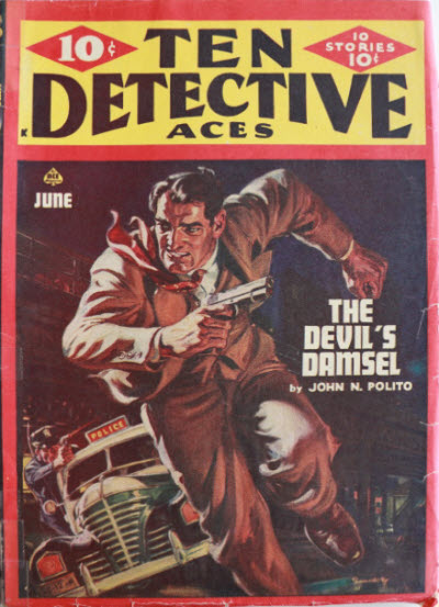 Ten Detective Aces, June 1947