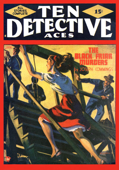 Ten Detective Aces, January 1948