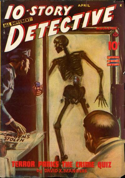 10-Story Detective, April 1945