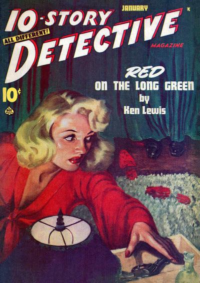 10-Story Detective, January 1947