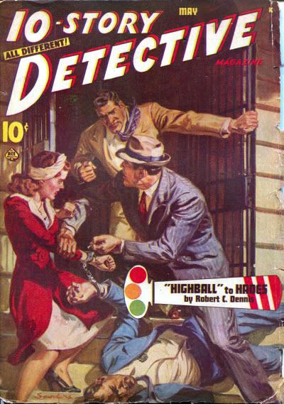10-Story Detective, May 1947