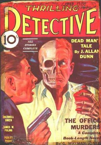 Thrilling Detective, May 1933