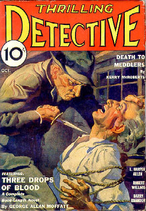 Thrilling Detective, October 1933